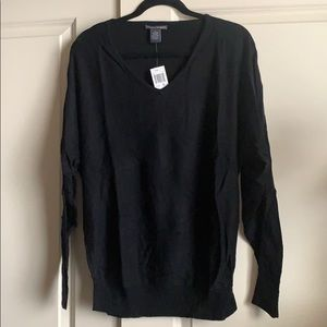 Black sweater size xl new with tags!